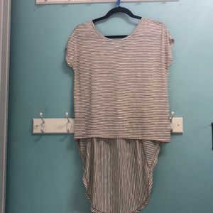 Stripped t-shirt worn once, price negotiable